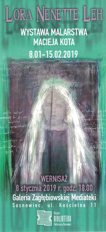 Wystawa malarska Macieja Kota